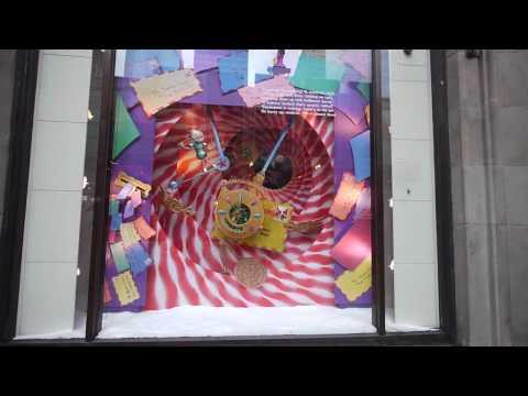 Macy's Christmas windows - weep for Marshall Field's