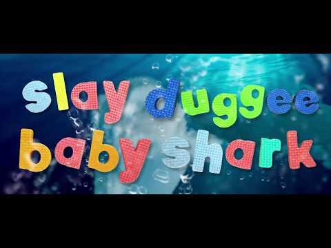 BABY SHARK Heavy Metal by SLAY DUGGEE