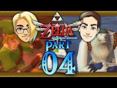 Let's Race: The Legend of Zelda: Skyward Sword (Hero Mode) Part 4 - Eldin Volcano