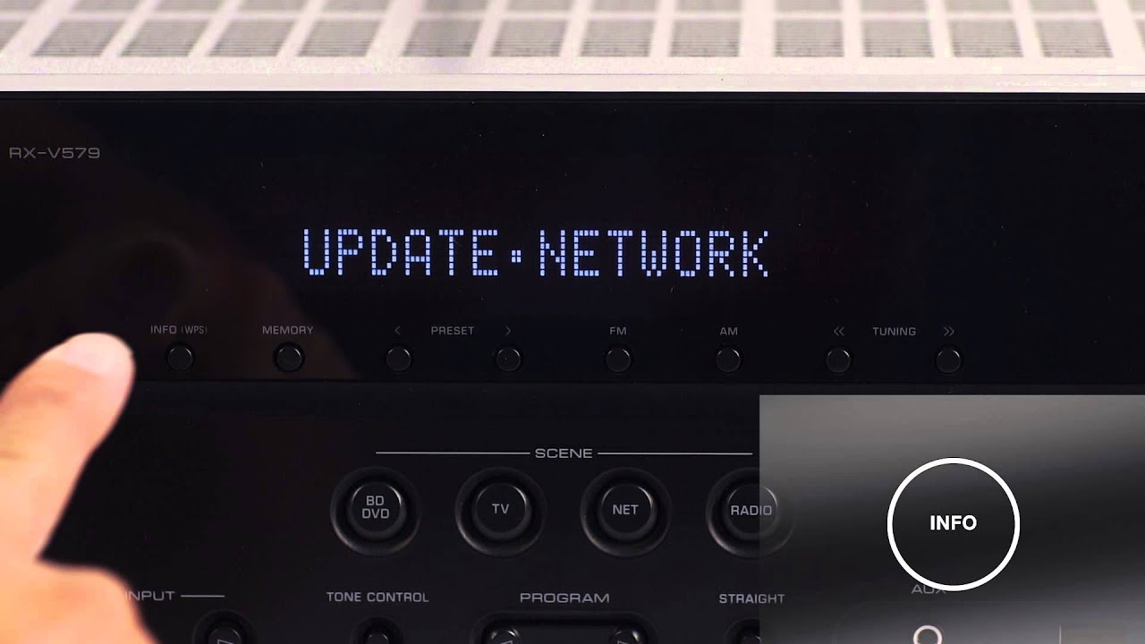 How To Update A Musiccast Av Receivers Firmware