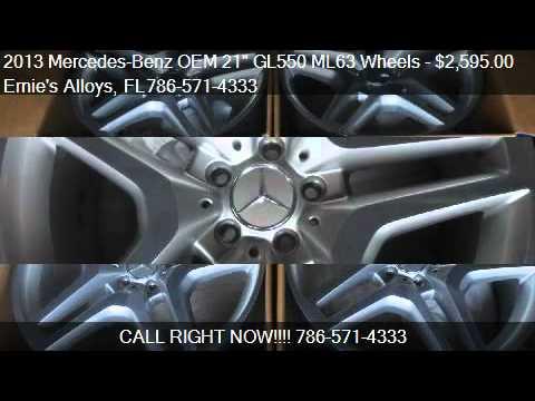 2013 mercedes benz oem 21 gl550 ml63 wheels for sale in youtube. Black Bedroom Furniture Sets. Home Design Ideas