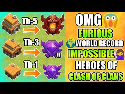 NEW FURIOUS WORLD RECORD II TH1 IN CRYSTAL LEAGUE I TH5 IN CHAMP I CLASH OF CLANS INDIA 2018