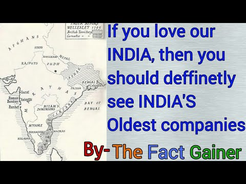 Top 10 Oldest INDIAN Companies.