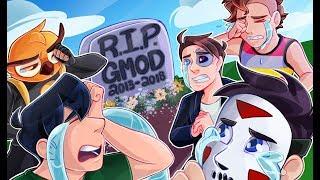MY LAST GMOD VIDEO! (Gmod Deathrun Funny Moments)