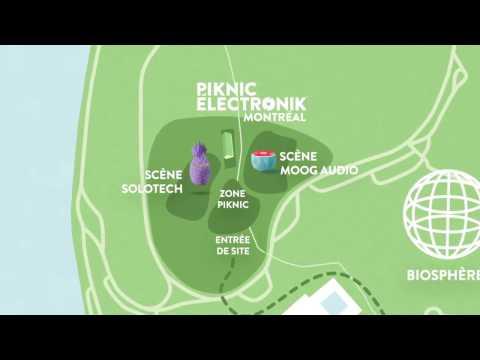 PIKNIC ÉLECTRONIK MONTRÉAL - NOUVEAU SITE | NEW VENUE