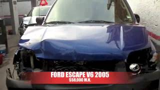 Accidentada Ford Escape 2005 AutoComercia