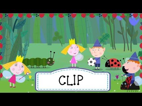 Ben y Holly - Bety oruga (Clip 1)