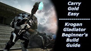 CARRY GOLD EASY - Krogan Gladiator (OP?) Beginner's Build Guide - Mass Effect Andromeda Multiplayer