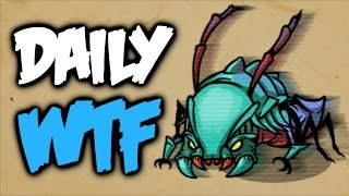 Dota 2 Daily WTF - Weaver to the future