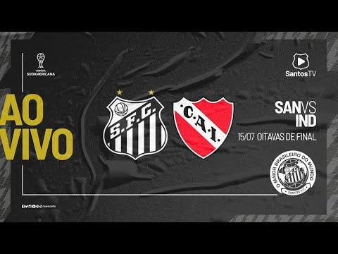 🔴 AO VIVO: SANTOS 1 x 0 INDEPENDIENTE   SUL-AMERICANA (15/07/21)