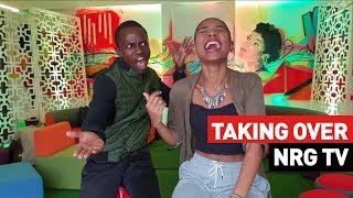 Elodie Zone and Charlie Karumi Take Over NRG TV | NRG Stars