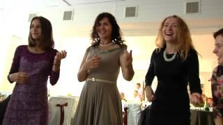 Танцевальный конкурс на свадьбе в Пинске