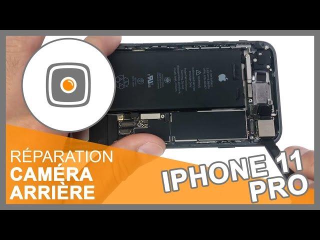 Réparation Caméra arrière iPhone 11 Pro