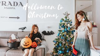 Go from Halloween to Christmas with me!