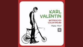 Karl Valentin – Klarinettenunterricht