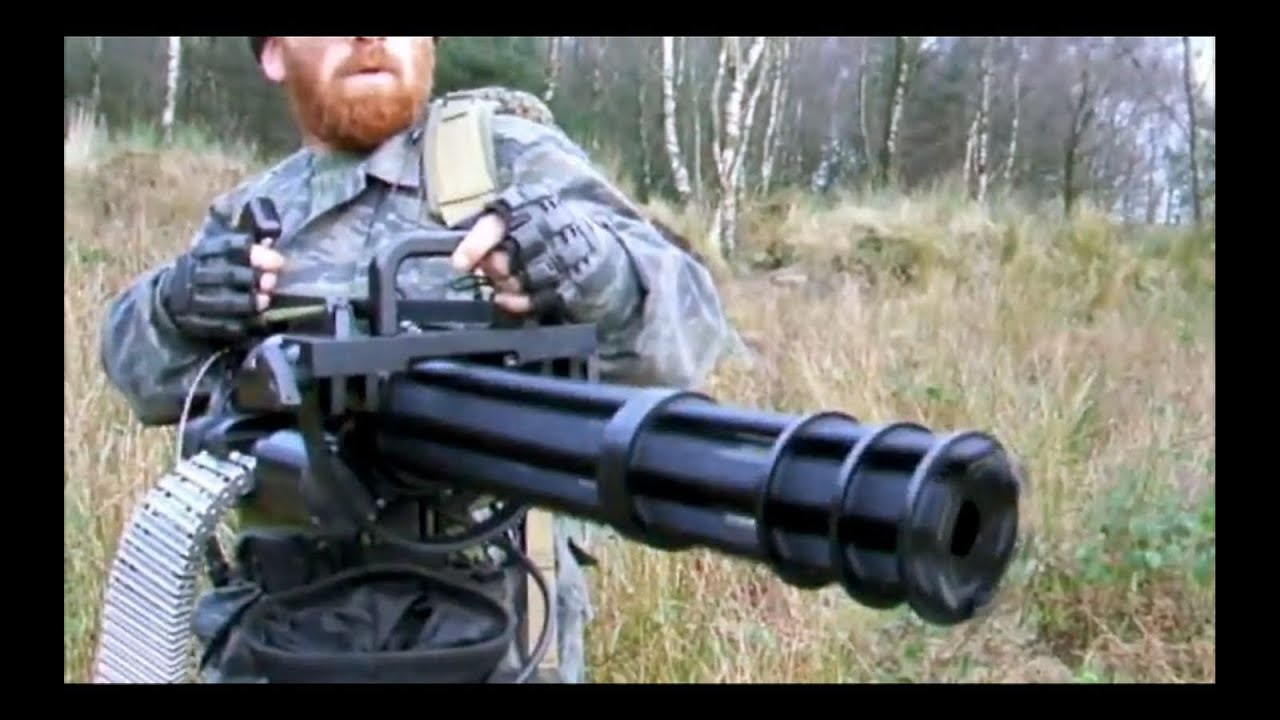 M134 Minigun The Fort Airsoft Scotland