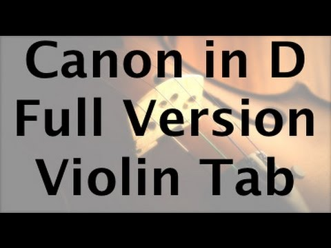 Learn Pachelbel's Canon in D on Violin - How to Play Tutorial