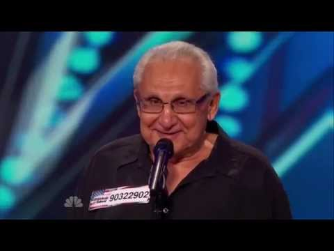 Thumbnail: America's Got Talent S09E05 Frank the Singer Adorable 74 Year Old Fulfilling His Dream