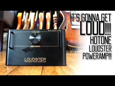 The Hotone LOUDSTER Power Amp!!!