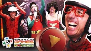 Irmãos Piologo e Pipipitchu na BRASIL GAME SHOW 2015 (PARTE 2/2)