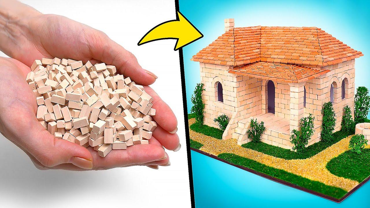 Una casa española de mini-ladrillos 🧱