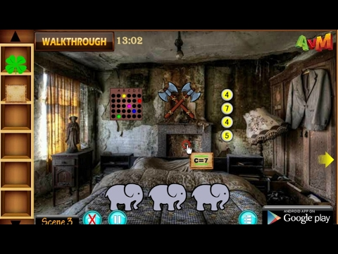Avm ancient haunted house escape walkthrough avmgames for Minimalistic house escape 5 walkthrough