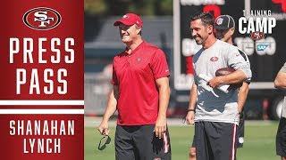Kyle Shanahan and John Lynch Preview #49ersCamp | San Francisco 49ers