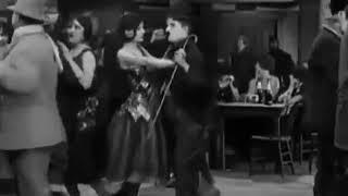 Charlie chaplin funny dance