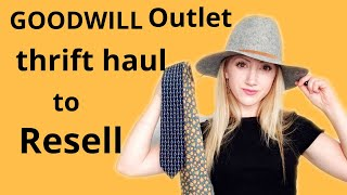 Goodwill Outlet Bins Haul   Thrift Haul to Resell for Profit on Poshmark   #Thrifter #Poshmark