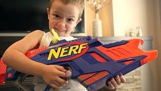 Nerf War: Gun BABY X (Nerf Nitro Mod)!