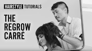 How to do the regrow carré? by Anh Co Tran | L'Oréal Professionnel tutorials