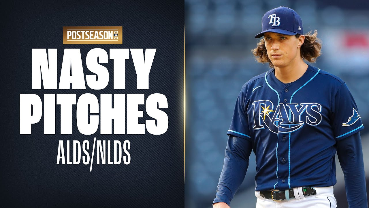 Nasty Pitches from the NLDS/ALDS! (ft. Gerrit Cole, Clayton Kershaw, Tyler Glasnow and more!)