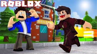 VIREI O FLASH DENTRO DO ROBLOX!!! THE FLASH