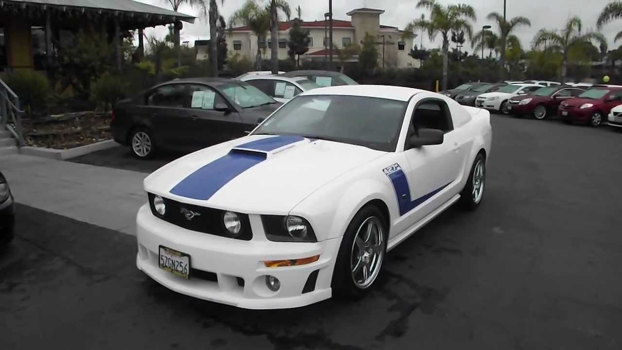 2007 used ford mustang gt roush edition for sale in san. Black Bedroom Furniture Sets. Home Design Ideas