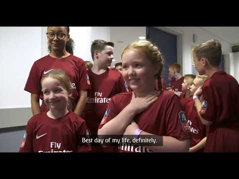 Emirates FA Cup Final 2018 Mascots | Emirates Airline