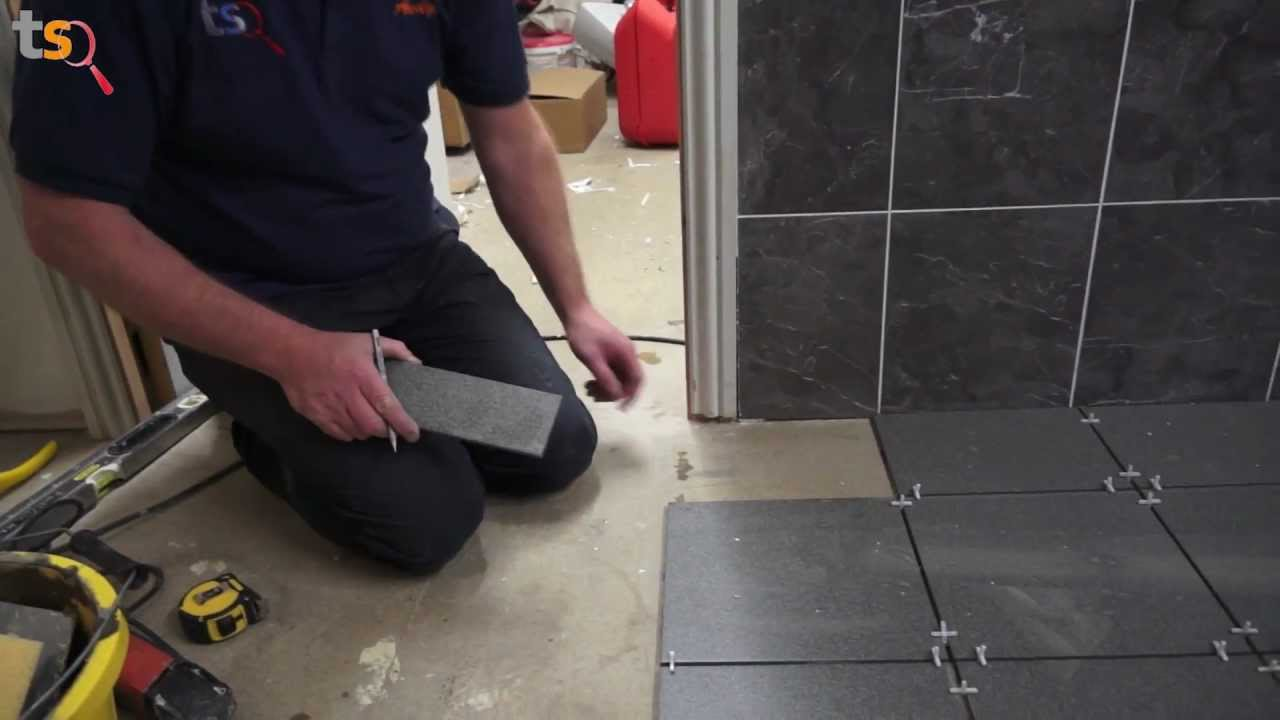 Tommys Trade Secrets How To Tile A Floor Youtube