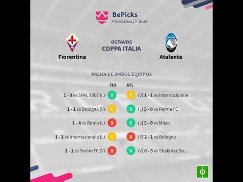 Previa Fiorentina vs Atalanta - Jornada 5 - Coppa Italia ...