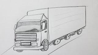 Comment dessiner un camion