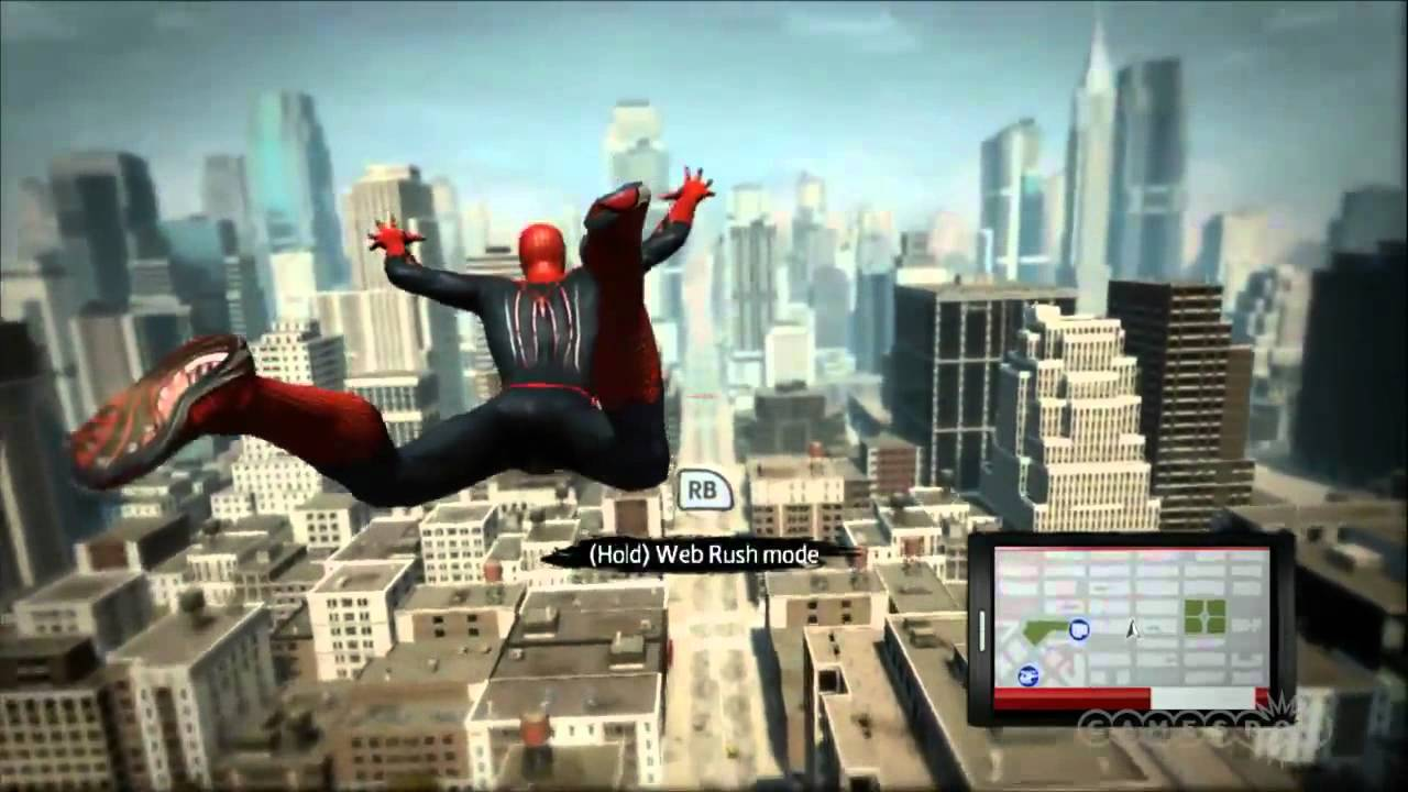 the amazing spider-man gameplay xbox 360 - youtube