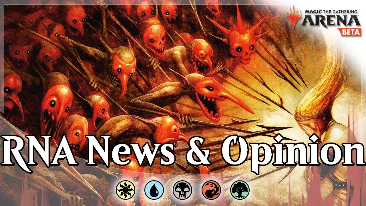 More RNA Review, MTG Arena Economy Changes, Event and Promotional Updates,  and more