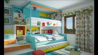 видео Металлические кровати: фото в интерьерах спальни и детской