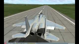 Fuel ending the aircraft (F-15) landings