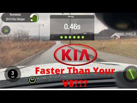 How Fast Is A Kia Stinger? (0-60 Runs)