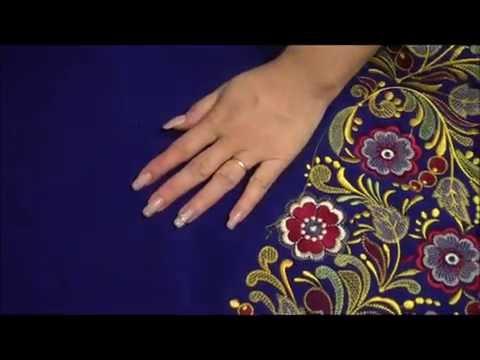 Как сшить карман с  листочкой