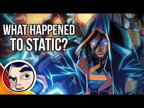 What Happened To Static & Static Shock in DC Rebirth | Comicstorian