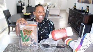I Try Travis Scott $50 Cereal | Taste Test | Alonzo Lerone