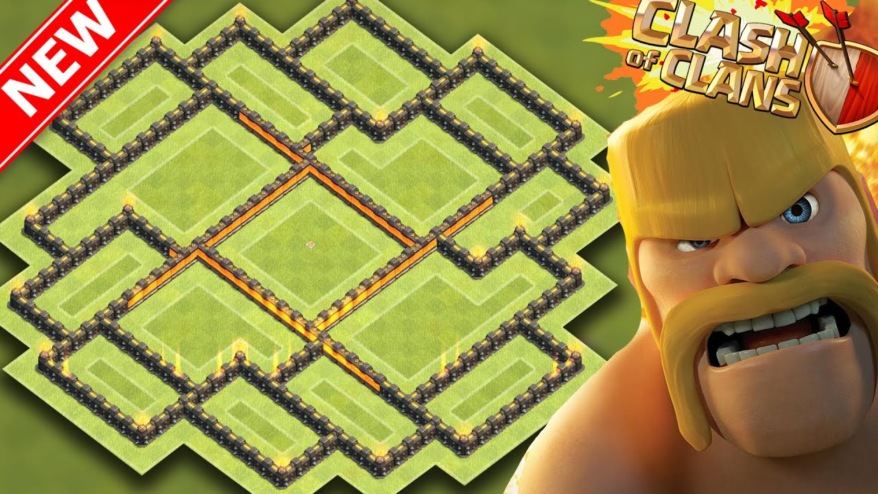 Quot new update quot th9 farming base coc best town hall 9 hybrid base