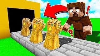 FAKİR SONSUZLUK ELDİVENİ ÜRETTİ! 😱 - Minecraft