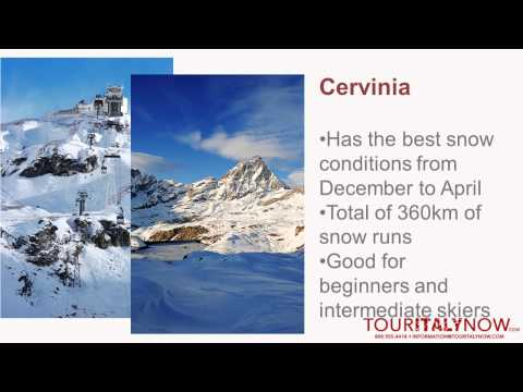 Top 5 Skiing Locations in Italy