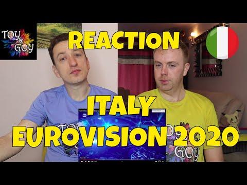 ITALY EUROVISION 2020 REACTION: Diodato - Fai Rumore